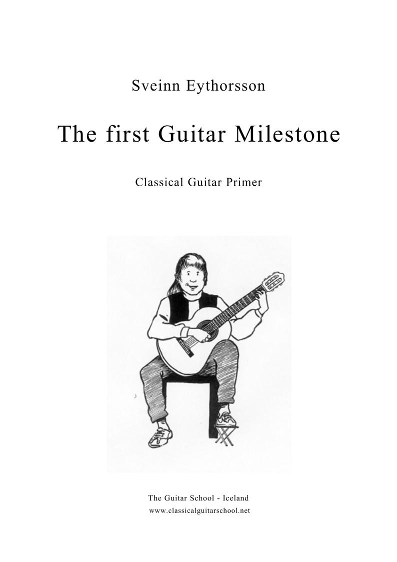 sveinn eythorsson  the first guitar milestone